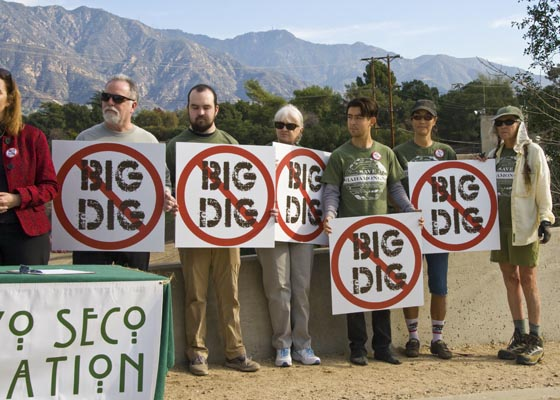 "Hahamongna Community says: ""No Big Dig!"""