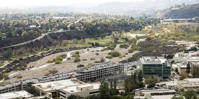 Hahamongna from JPL