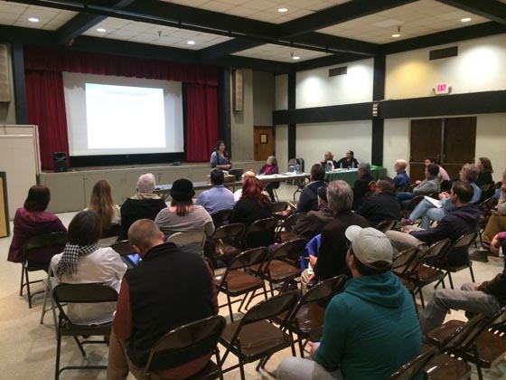 Public Meeting, January 21, 2015