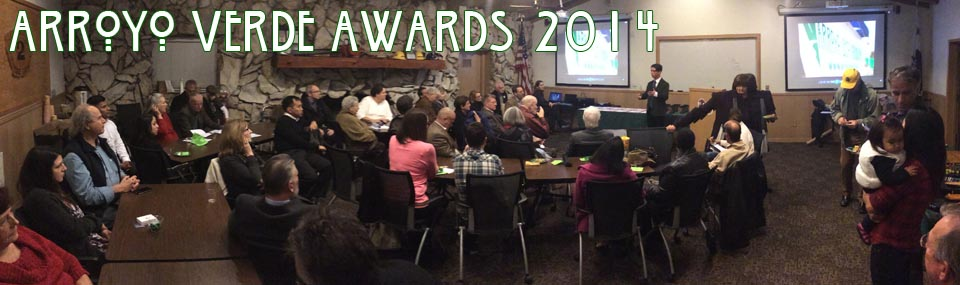Tim Martinez introduces the 2014 Arroyo Verde Recipients