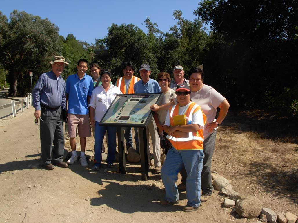 Here's the crew that brought the Arroyo that brought the Arroyo Chub back to the Arroyo Seco