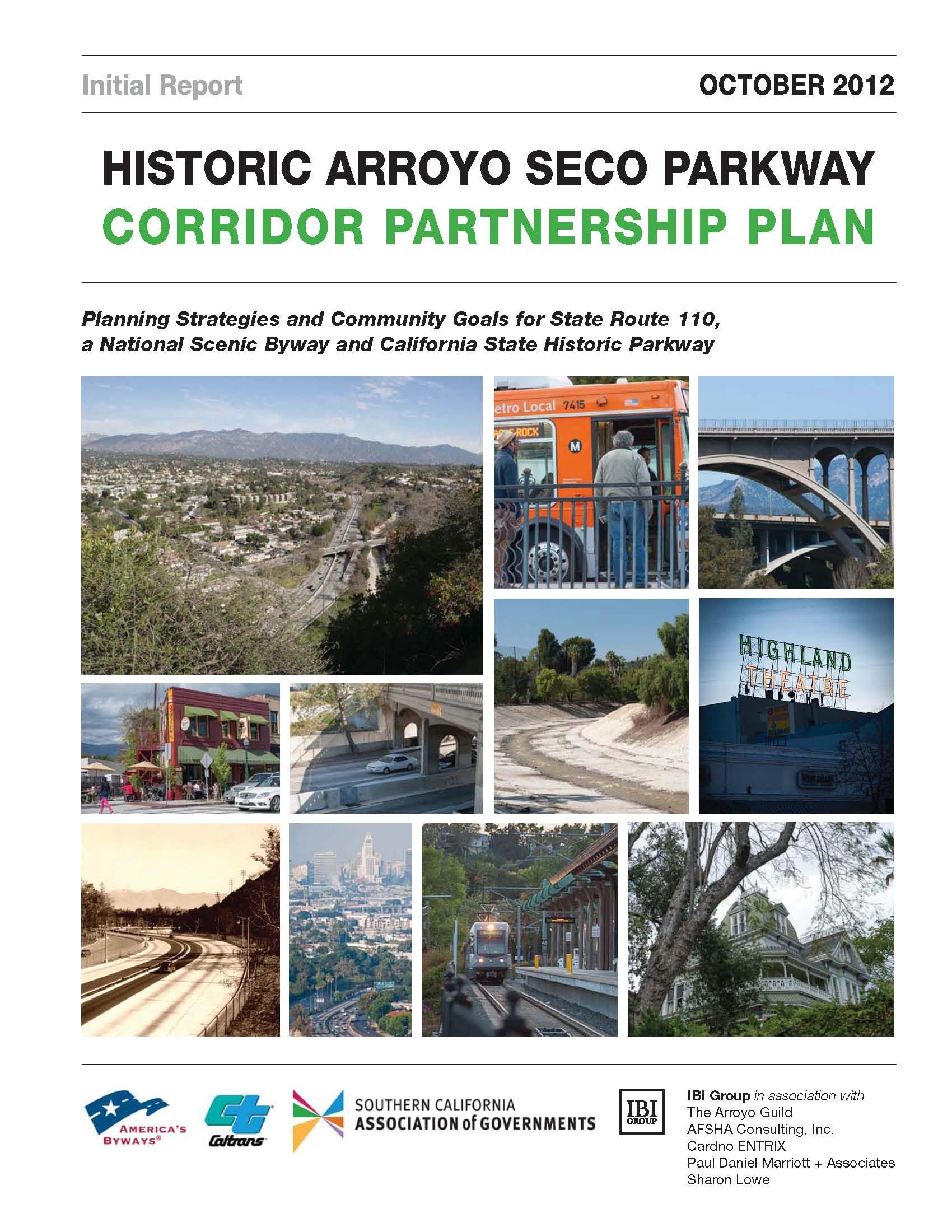 Corridor Partnership Plan Cover