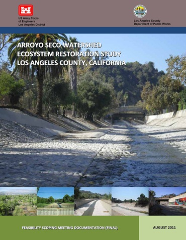 Arroyo Seco Watershed Ecosystem Restoration Study Cover