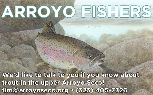 Help needed for trout survey in upper watershed