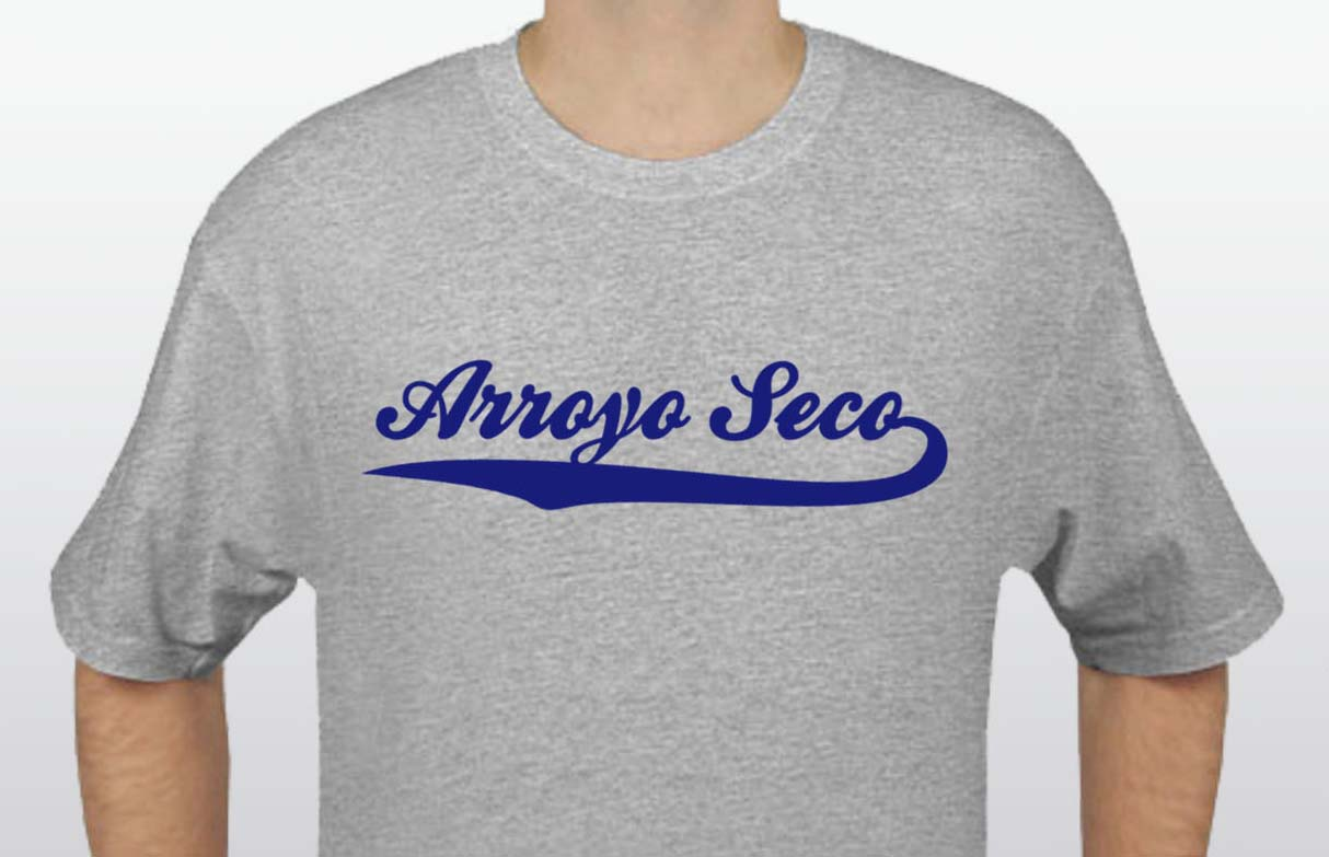 Grey Arroyo Seco T-Shirt