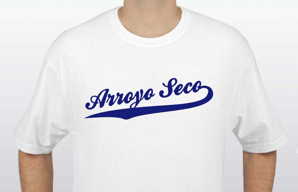 White Arroyo Seco T-Shirt